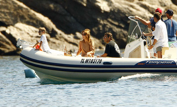 august 2008 luxury yachts and fame celebrities on yachts