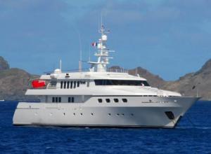 Bono's luxury motor yacht