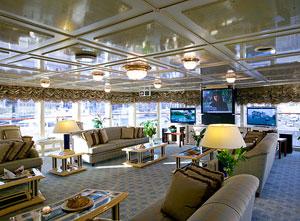 The Luxury Yacht Saloon