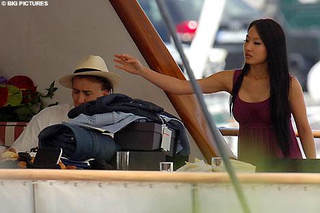 Nicholas Cage Yacht
