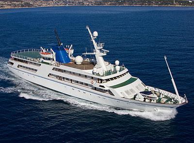 Saddam's Luxury Yacht