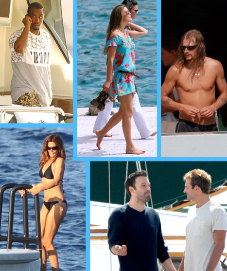 LimeLife Image of Celebrities and Yachts