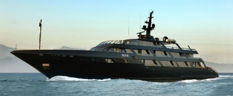65m Codecasa superyacht MAIN owned by Giorgio Armani - Image credit to Codecasa Yachts