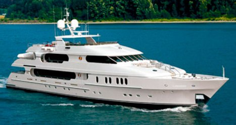 Christensen 155 Yacht PRIVACY owned by Tiger Woods