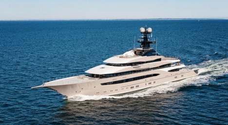 Luxury Motor Yacht KISMET by Lurssen - Photo by Klaus Jordan