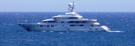 Superyacht MADSUMMER in the Mediterranean - Image Courtesy of LiveYachting