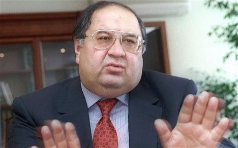 Alisher Usmanov - Photo credit to telegraph.co.uk